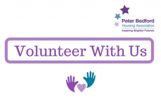Volunteer with us header