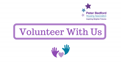 Volunteer with us header
