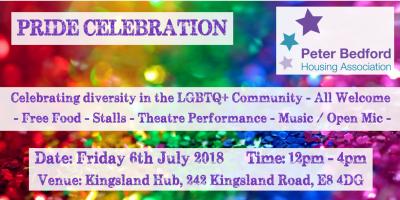 pride celebration 2018 poster