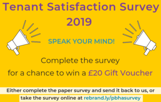 Tenant Satisfaction Survey 2019 Peter Bedford Housing Association image